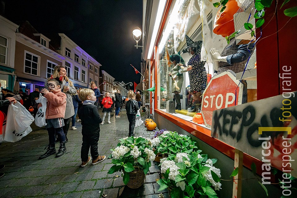 Halloween in centrum